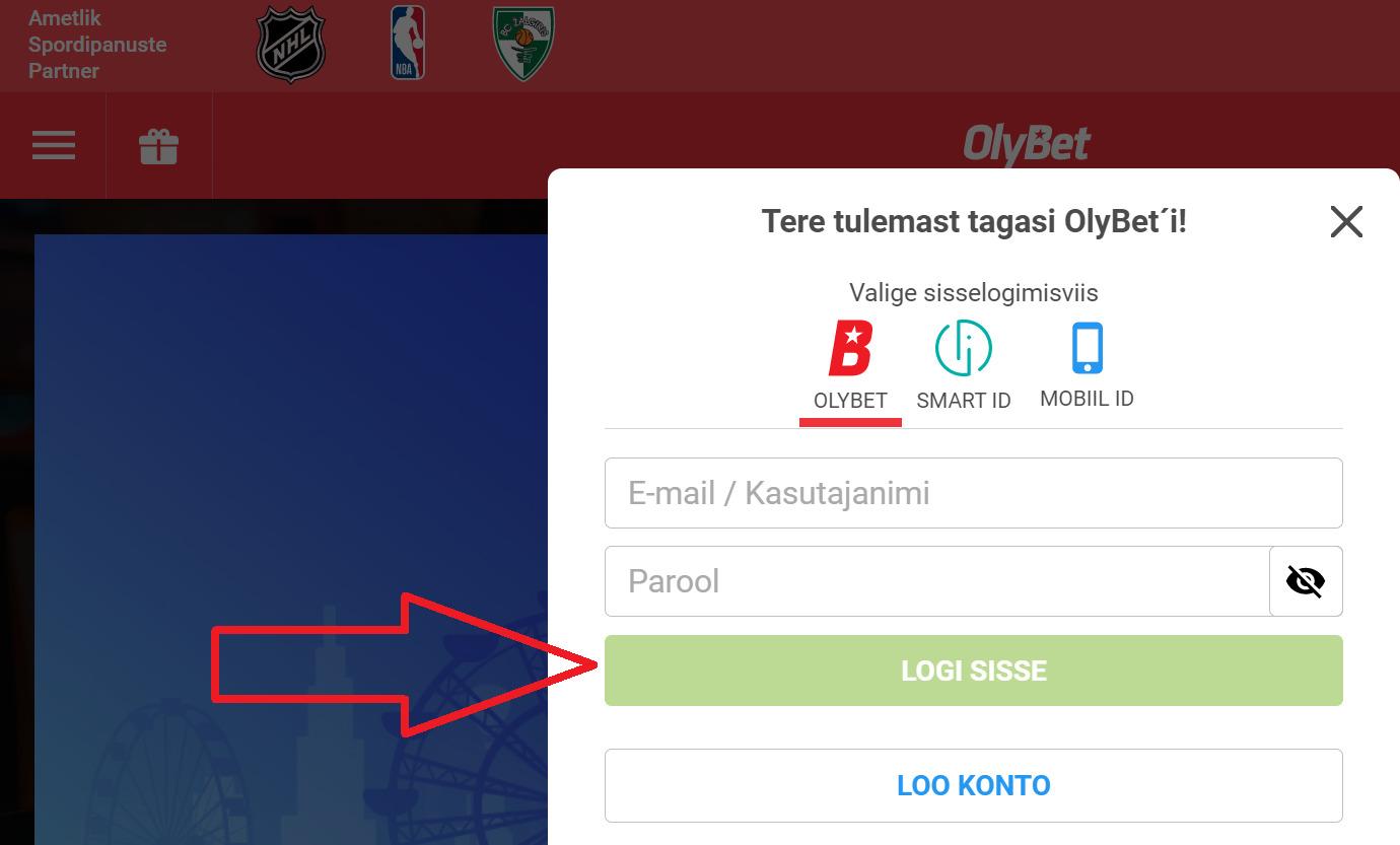 Kā izmantot Olybet bonusa kods?