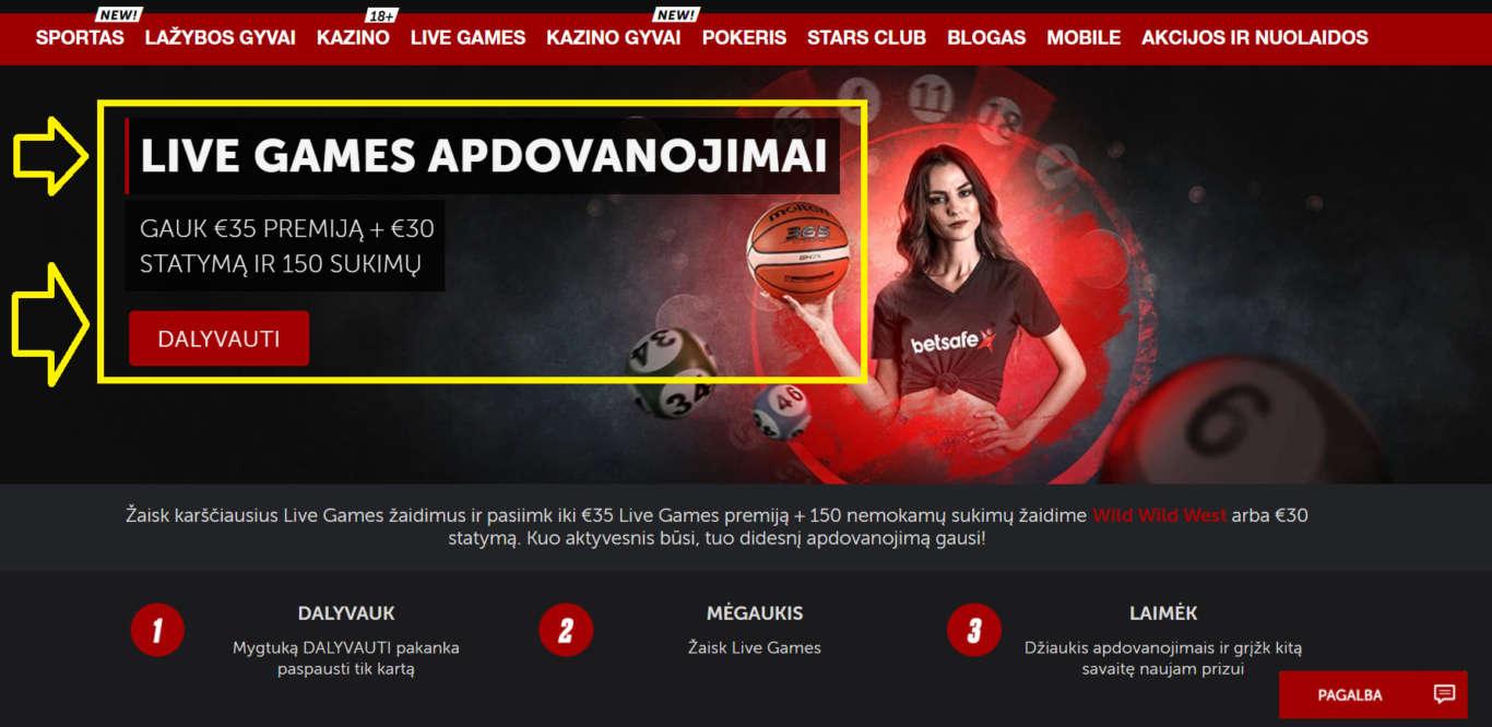 Betsafe Latvija: tiešsaistes atbalsta pakalpojums