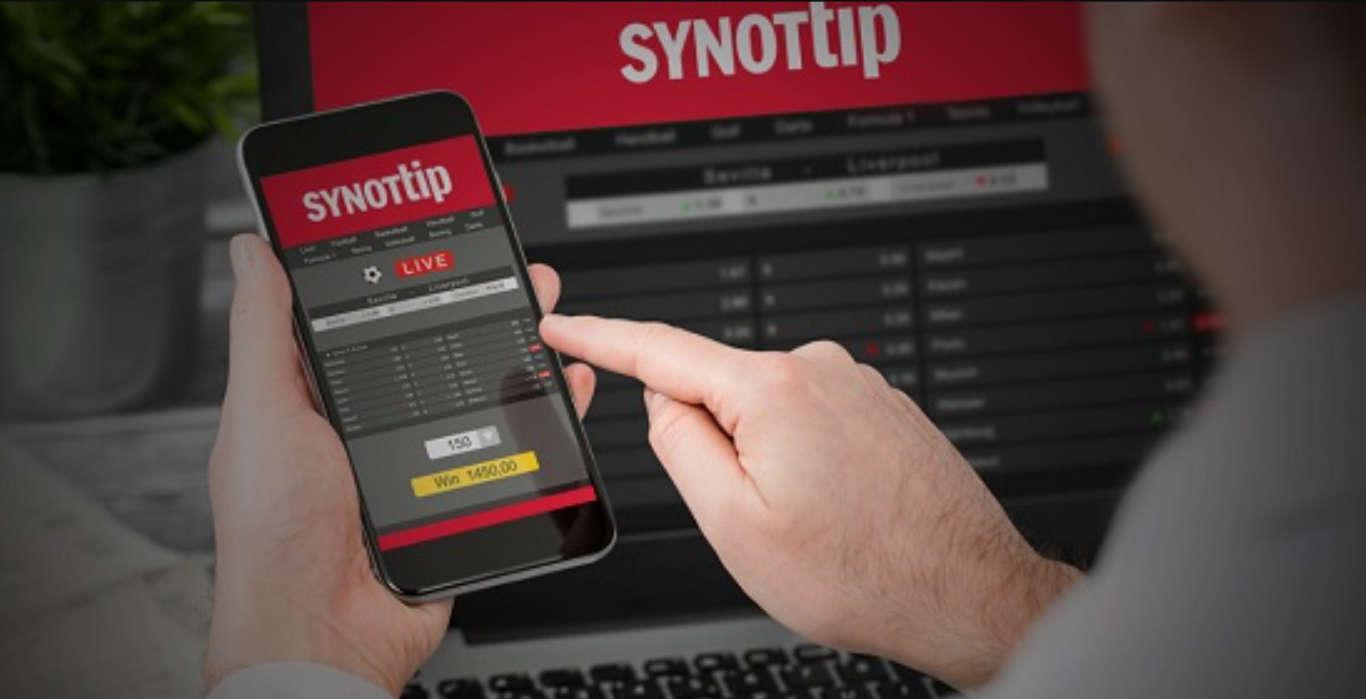 SynotTip app spēlējot kazino